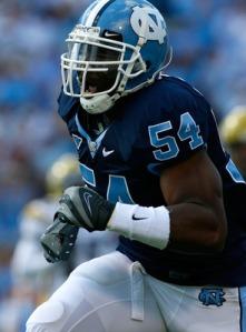 Dallas Cowboys Bruce Carter - 2011 NFL Draft pick