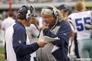 Dallas Cowboys defensive coordinator Rob Ryan