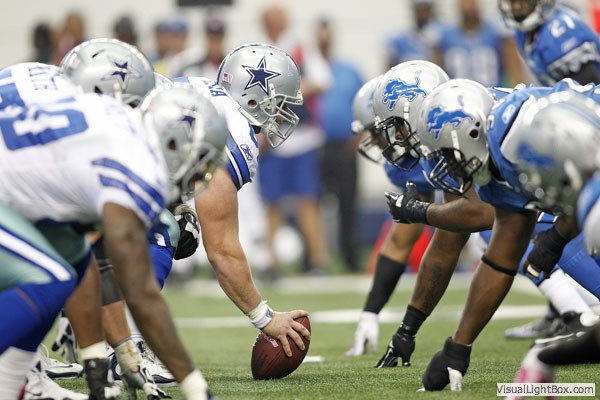 Dallas Cowboys OL vs Detroit Lions