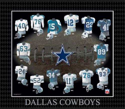 Dallas Cowboys Uniforms - Dallas Cowboy uniform - The Boys Are Back