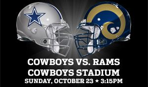 Dallas Cowboys vs St Louis Rams