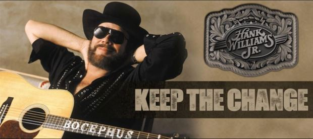Hank Williams Jr - Keep the Change - Click on picture to hear song