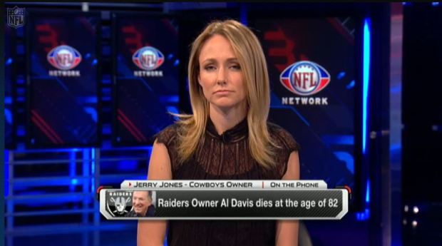 Jerry Jones emotionally honors Al Davis - Click on picture to listen