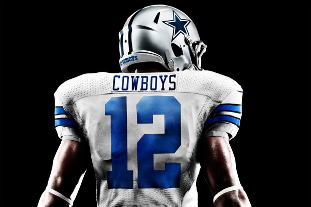 New Nike 2013 Dallas Cowboys Football Uniform - New Dallas Cowboys helmet, jersey, and uniform history - Official NFL Dallas Cowboys uniform jersey and helmet