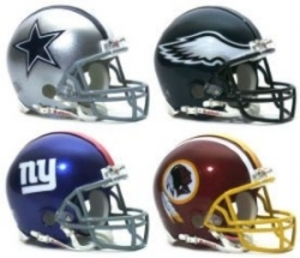 NFC East - Dallas Cowboys - PHI Eagles - NY Giants - WAS Redskins