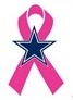 NFL Cancer Awareness - Dallas Cowboys