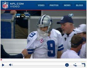 Tony Romo vs Jerry Jones sideline brawl hahaha