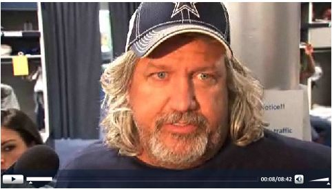 Dallas Cowboys DC Rob Ryan locker room interview