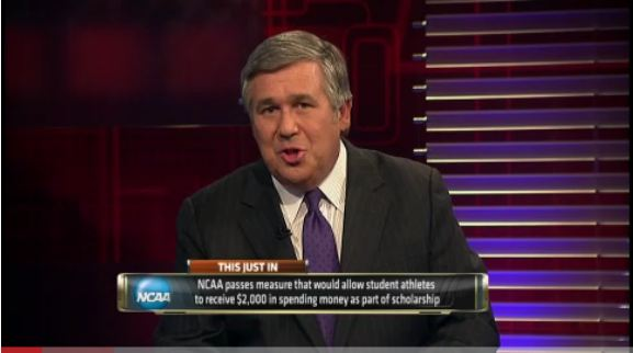 Video - ESPN reports on new changes in NCAA - Click on photo to play