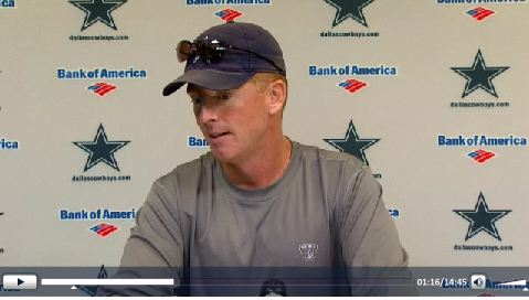 VIDEO - Jason Garrett Press Conference - Friday