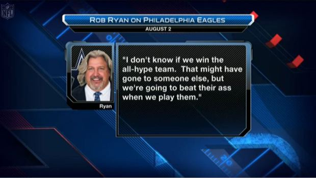 Video - Rob Ryan all-hype team comment resurfaces - The Boys Are Back