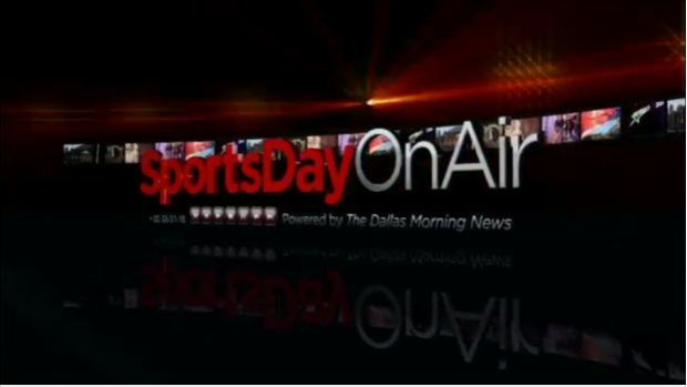 VIDEO - SportsDay On Air - Click on picture to watch