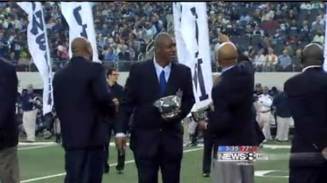 Dallas Cowboys Ring of Honor inductees 2011 Drew Pearson - Charles Haley - Larry Allen