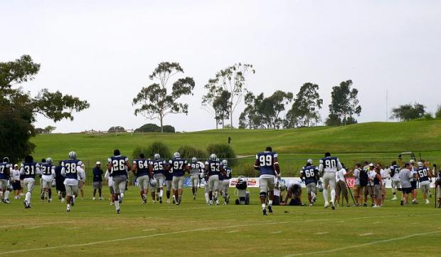 The Boys Are Back - Dallas Cowboys training camp Oxnard California