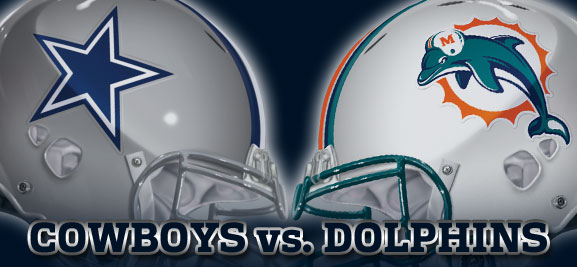 Dallas Cowboys vs. Miami Dolphins - Thanksgiving Day 2011