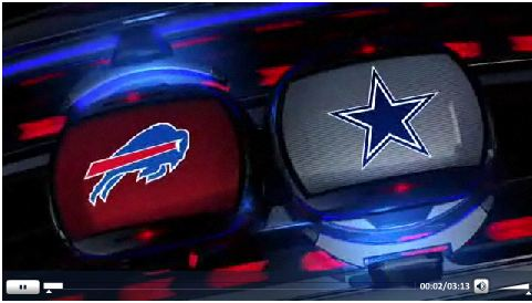 Video - Buffalo Bills vs Dallas Cowboys highlights - Click to play