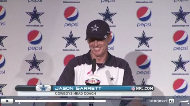 Dallas Cowboys Postgame Press Conference - Jason Garrett | Tony Romo