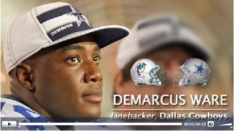 Video - DeMarcus Ware - Press play