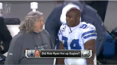 Video - Did Rob Ryan fire up the Eagles
