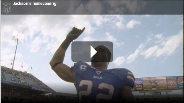 Dallas native Fred Jackson returns home as a Buffalo Bill - Press play