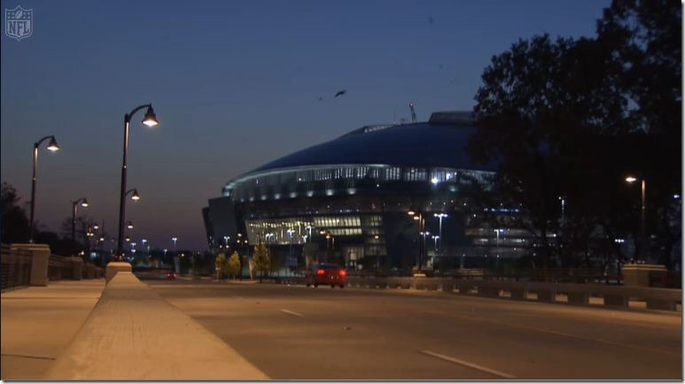 Dallas Cowboys Stadium - The Boys Are Back home