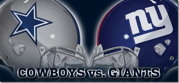Dallas Cowboys vs. New York Giants - The Boys Are Back blog