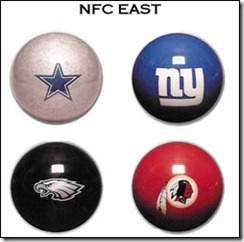 NfC East - The Boys Are Back blog