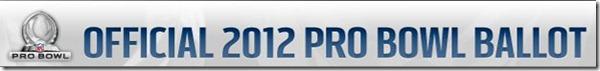 Official 2012 NFL Pro Bowl ballot