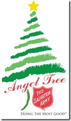 Salvation Army Angel Tree program - Dallas Cowboys