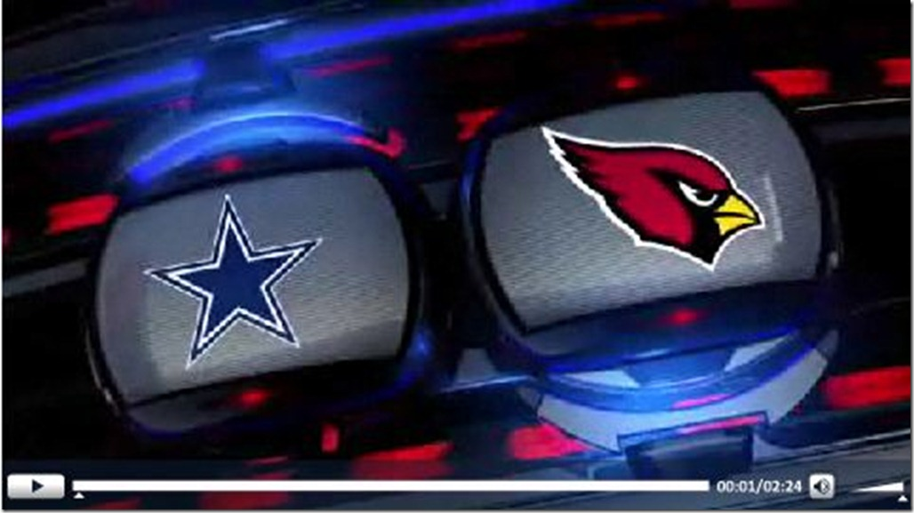 VIDEO - Dallas Cowboys vs Arizona Cardinals