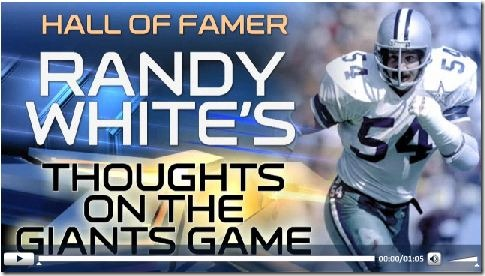 VIDEO - Randy White's thoughts on the game - Press Play