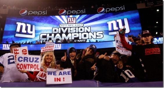 2011 New York Giants - NFC East Champions - The Boys Are Back blog