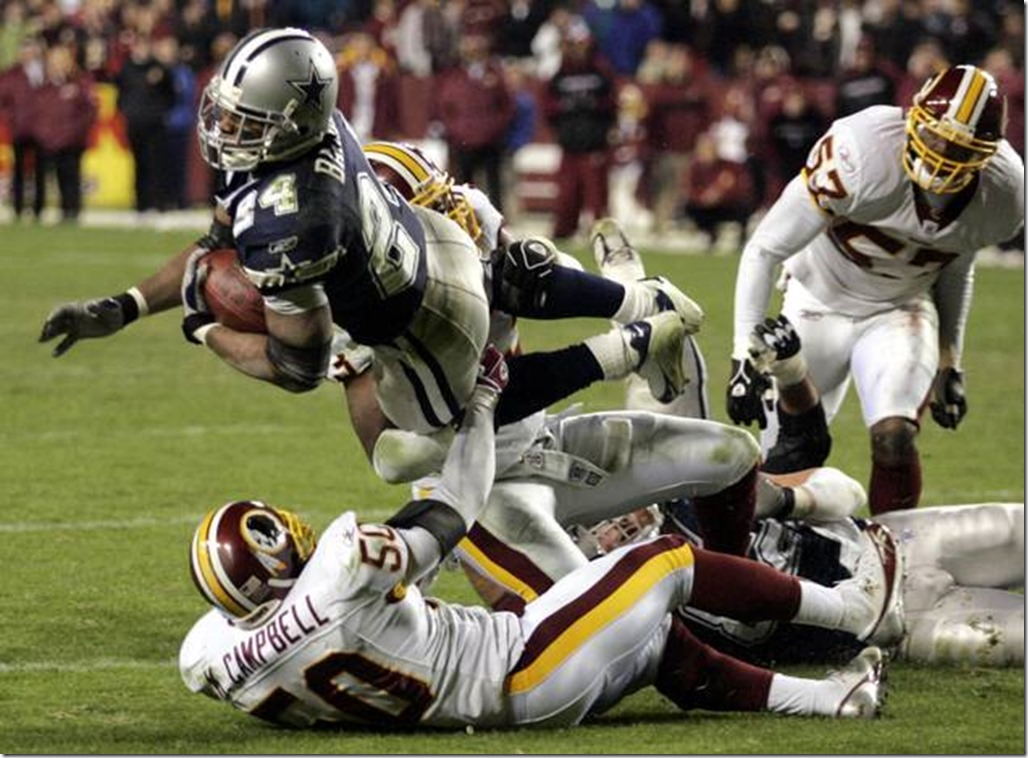 Marion Barber - Former Dallas Cowboy - The Boys Are Back blog