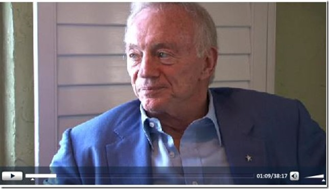 Video - Jerry Jones interview - NFL Owners Meeting - Press PLAY