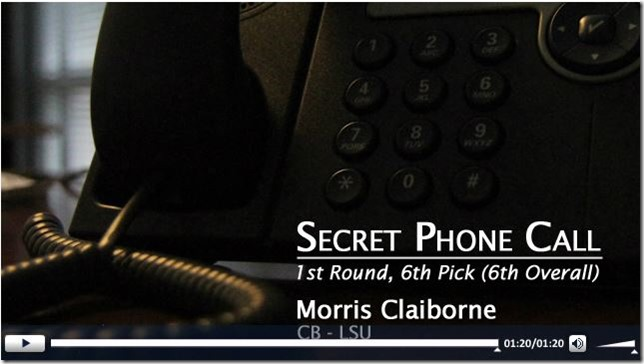 AUDIO - Morris Claiborne - Call