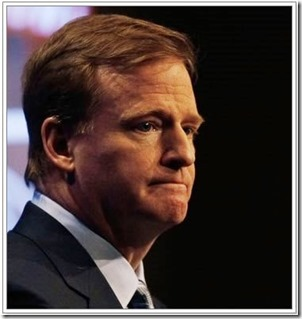 Roger Goodell - NFL Commish - The Boys Are Back blog