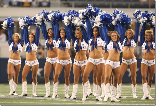 A new season means new faces. But that doesn't apply to just the Cowboys football team. The world famous Dallas Cowboy cheerleaders also have new faces. MICHAEL AINSWORTH / Staff Photographer