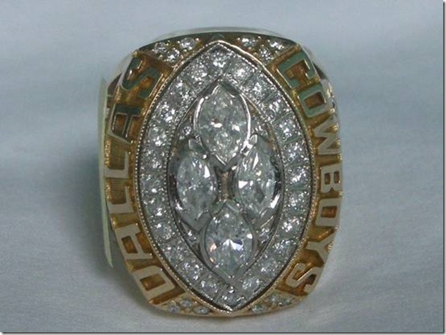 HAPPY FATHERS DAY: Dallas Cowboys Super Bowl ring on sale for $45,000 - The Boys Are Back blog