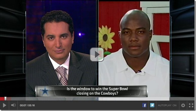 VIDEO - DeMarcus Ware interview June 2012