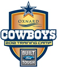 2012 Dallas Cowboys Training Camp logo
