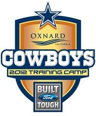 2012 Dallas Cowboys Training Camp logo