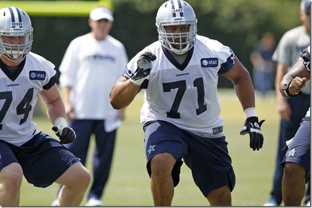Dallas Cowboys Ronald Leary - The Boys Are Back blog