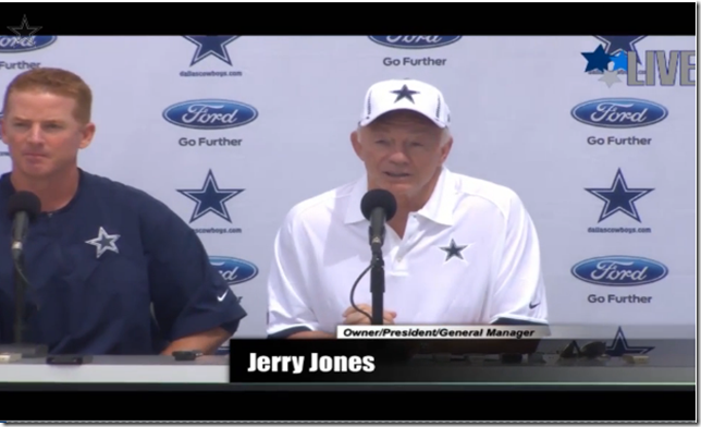 VIDEO - Opening Day - Dallas Cowboys Training Camp 2012 - The Boys Are Back blog