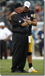Andy Reid with Ben Roethlisberger - The Boys Are Back blog