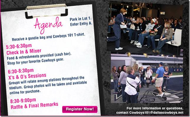 Cowboys 101 - Agenda - The Boys Are Back blog