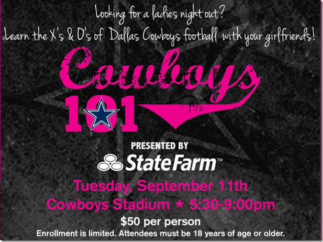 Cowboys 101 - The Boys Are Back blog