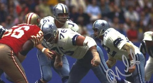 Dallas Cowboys Guard John Niland - 2012 Tom Landry Award - The Boys Are Back blog