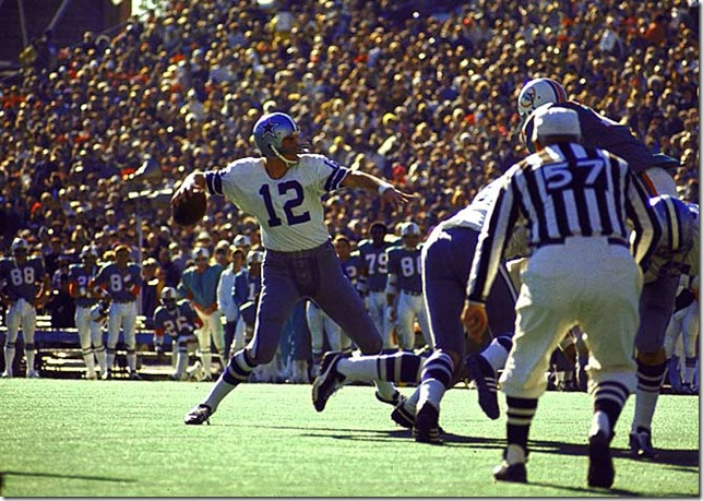 Dallas Cowboys Hall of Fame QB Roger Staubach - The Boys Are Back blog