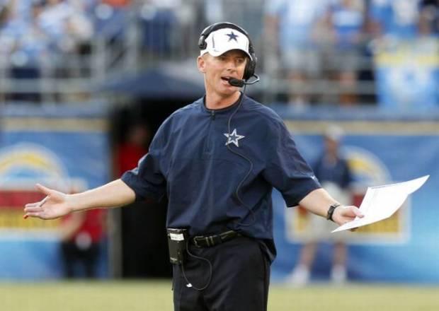 Dallas Cowboys head coach Jason Garrett - Training Camp 2012 2013 - The Boys Are Back blog