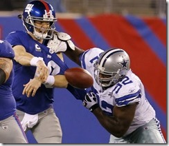 Dallas Cowboys Josh Brent vs New York Giants - The Boys Are Back blog